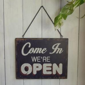 お店オープン