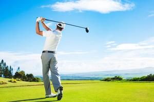 ゴルフのアドレス時に猫背になってしまう人の改善方法!